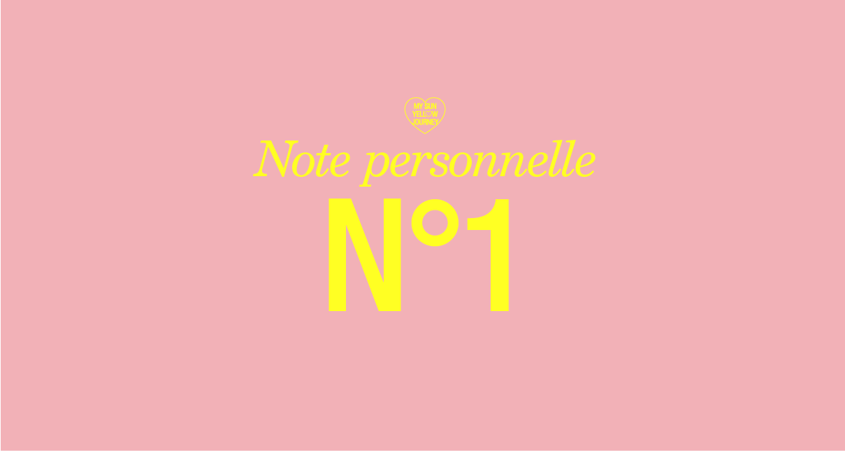 Note Personnelle N°1