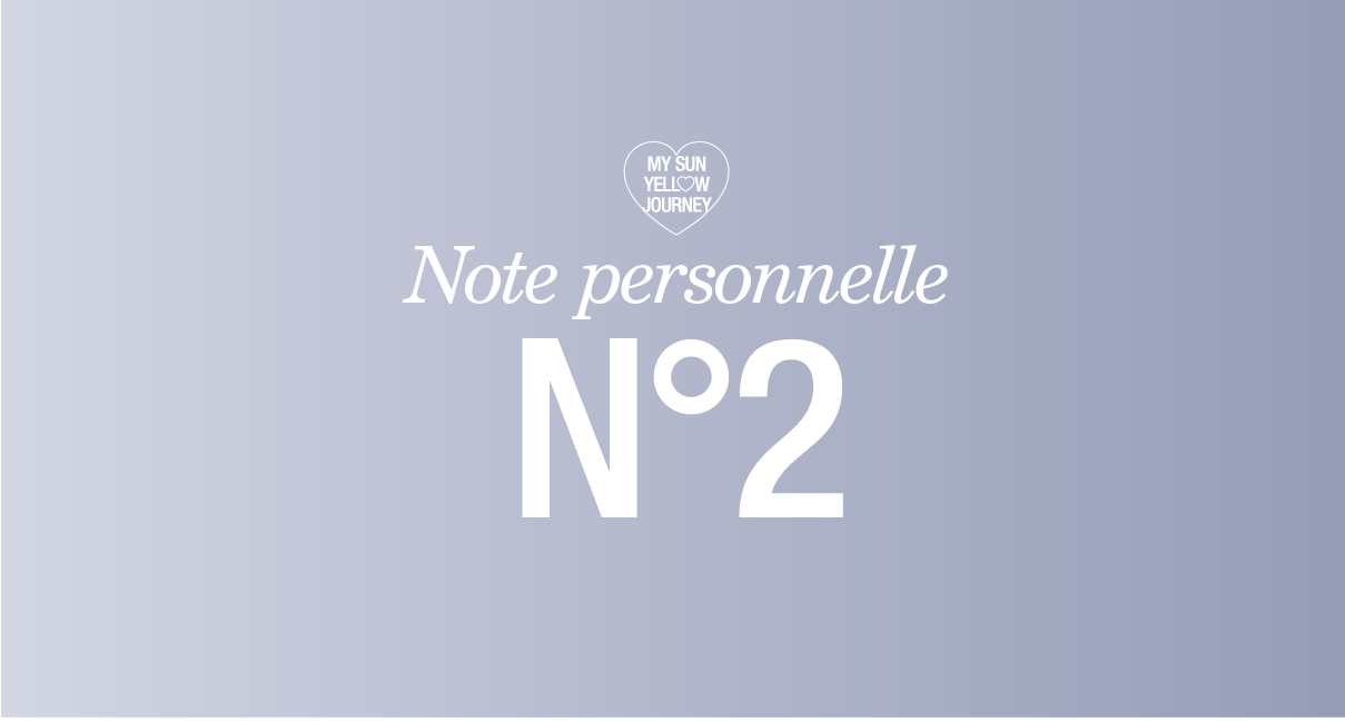 Note Personnelle N°2