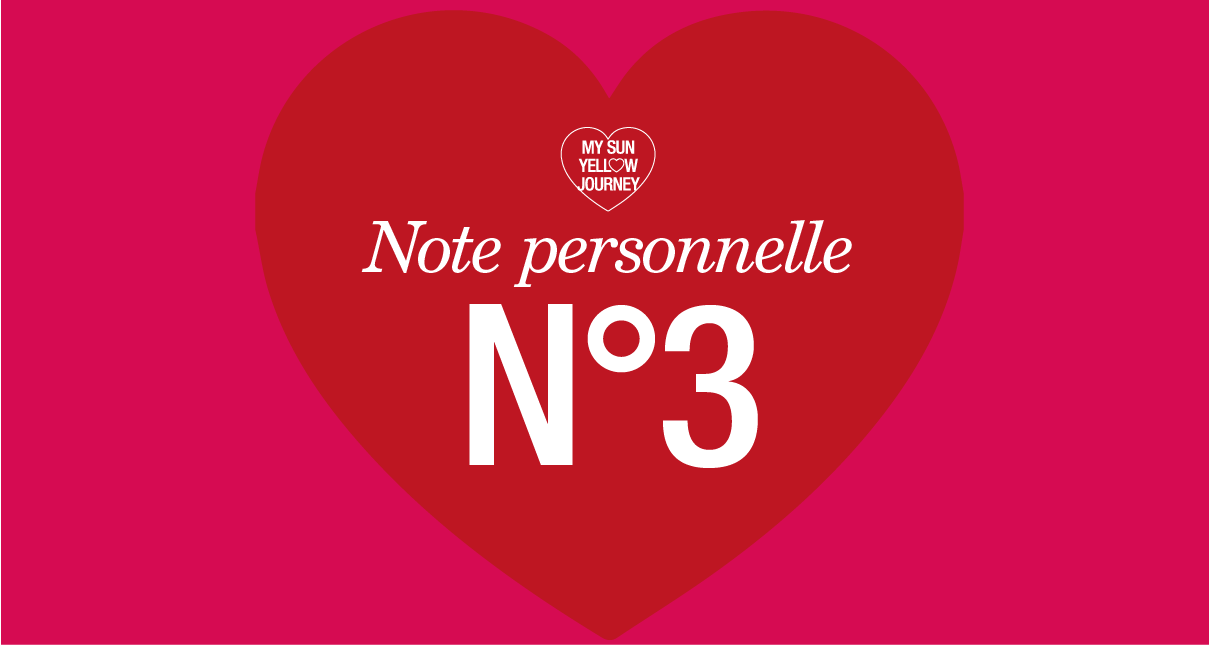 Note personnelle N°3